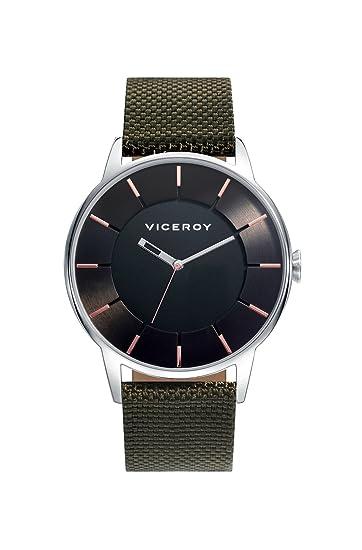 Viceroy Reloj Analógico para Hombre de Cuarzo con Correa en Nailon 471141-57