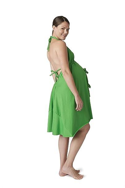 Pretty Pushers - Maillot de algodón - Verde - talla única (2-16 pre-embarazo): Amazon.es: Ropa y accesorios