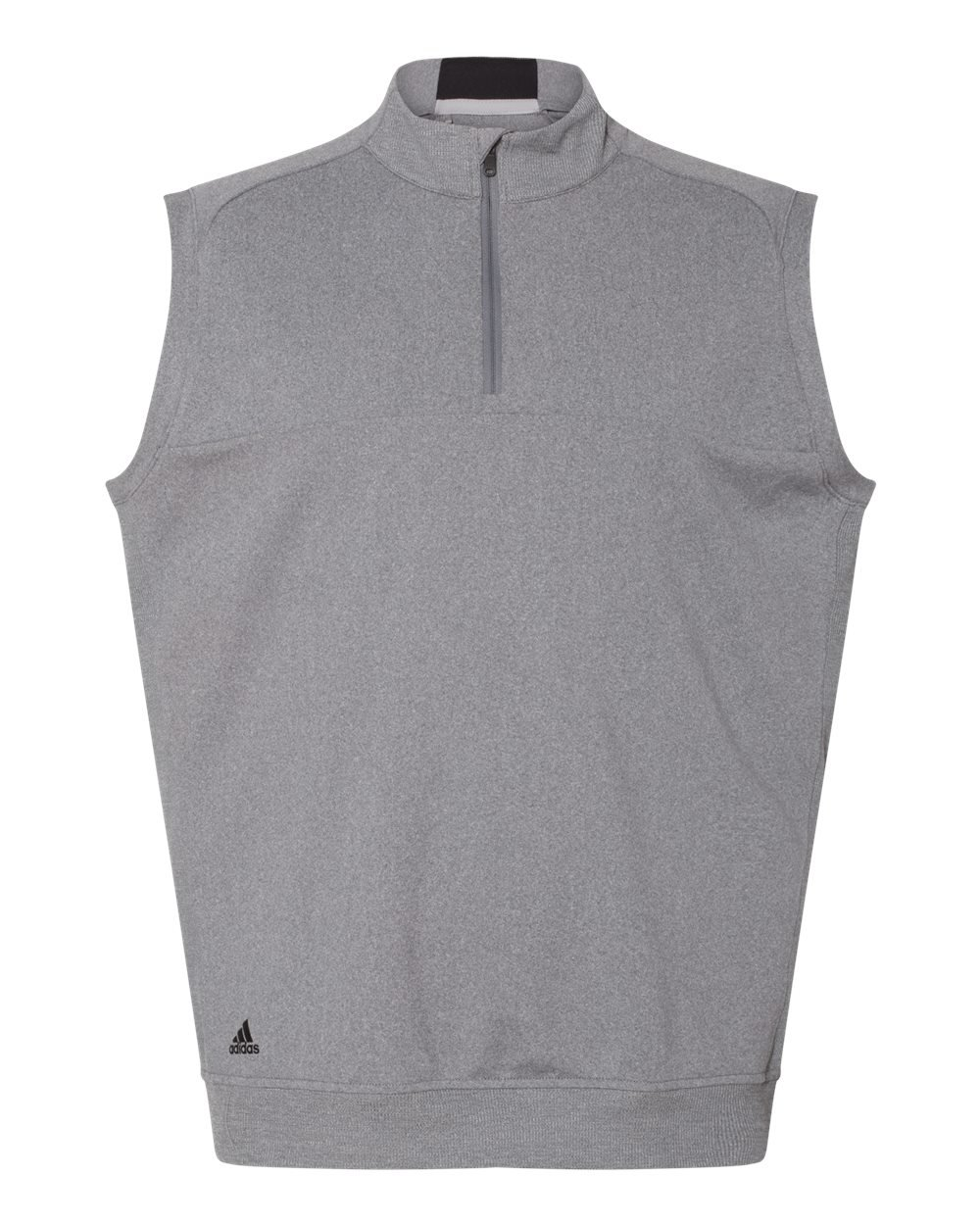 adidas Golf Mens Quarter-Zip Club Vest (A271) -Vista Grey -XL by adidas