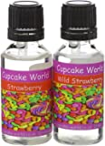 Wild Strawberry and Strawberry Intense Food Flavours (Two 28.5 ml bottles)