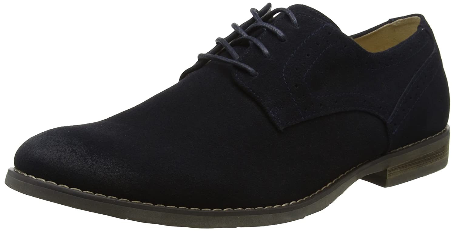 TALLA 43 EU. Hush Puppies Sean Plain Toe, Zapatos de Cordones Oxford para Hombre