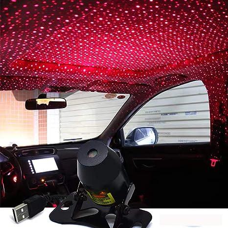Amazon Com Car Usb Atmosphere Ambient Star Light Car Interior