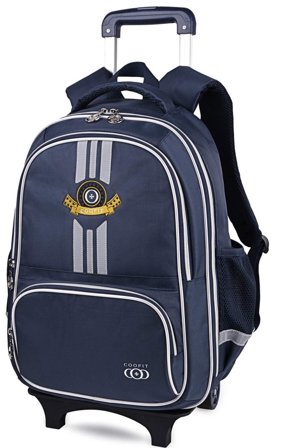 97be6f709f61 Galleon - Rolling Backpack, School Backpack With Wheels, COOFIT ...