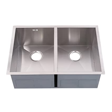 Attrayant Stillori Kitchen Sink 29u0027u0027x20u0027u0027x10u0027u0027 Double Bowl 50/