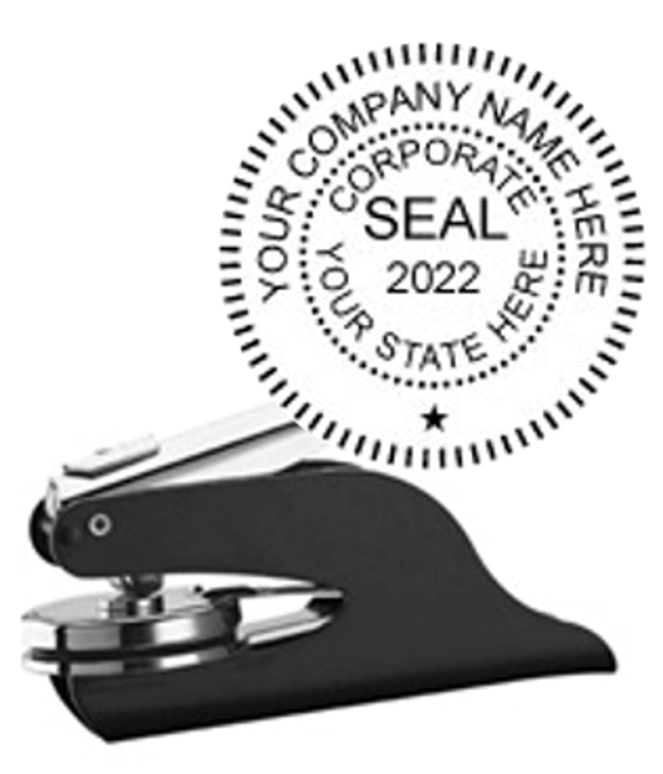 Corporate Seal by Hubco