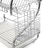 Juvale 2-Tier Dish Drying Rack – Dish