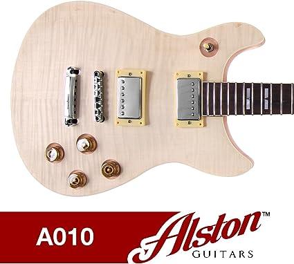 Alston guitarras – DIY Kit de guitarra eléctrica | set-in | madera ...