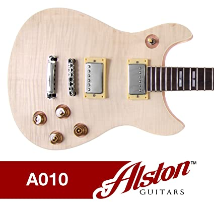 Alston guitarras – DIY Kit de guitarra eléctrica | set-in | madera maciza de
