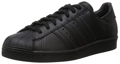adidas superstar core black hombre