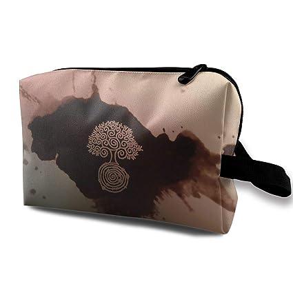 Bolsas de cosméticos de pintura de arte digital Bolsa de ...