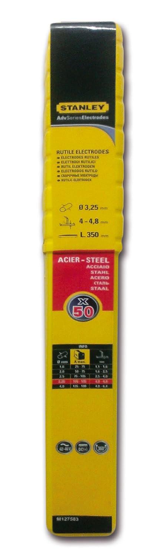 Stanley 460832 - Electrodos para soldadura (50 unidades): Amazon.es: Industria, empresas y ciencia
