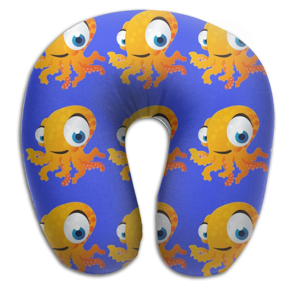 Octopus Halobios Support Neck Pillow Spa Memory Foam U-SHAPE Driving Women
