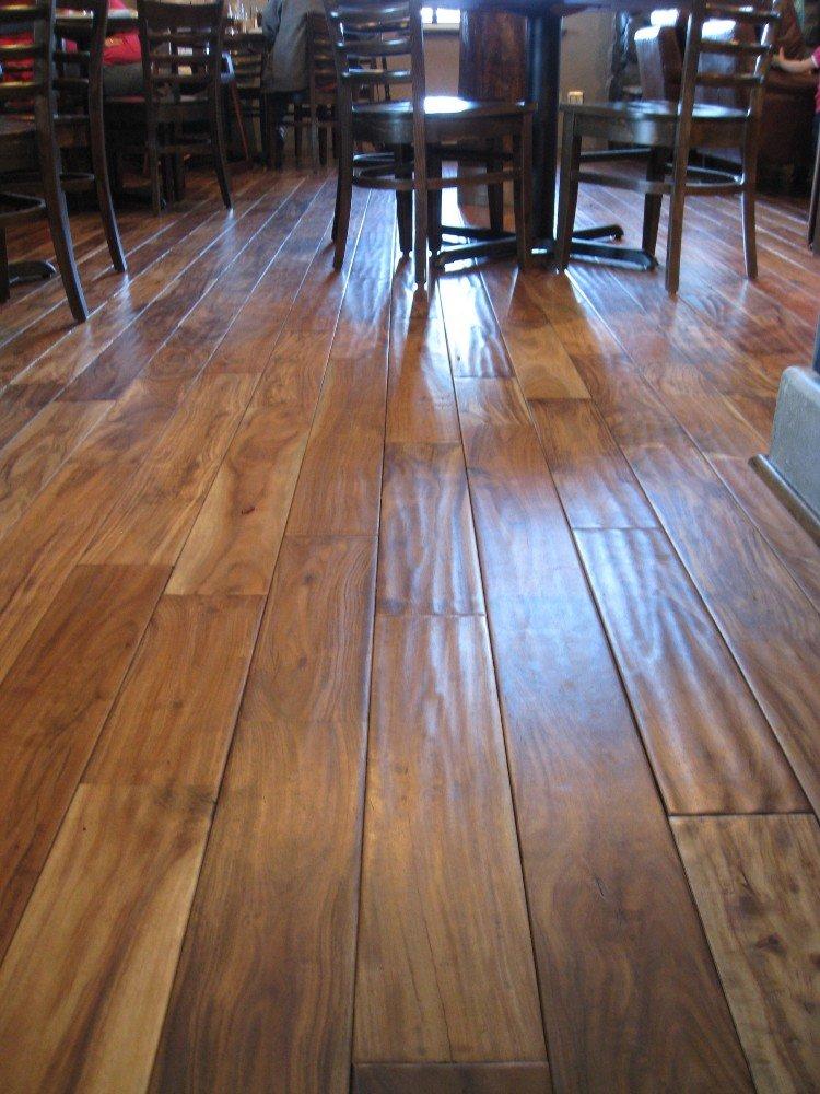 acacia natural hand scraped sample solid hardwood floor aluminum oxide wood floor coverings amazoncom