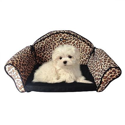 Ondoing Impermeable Proteccion Perros sofá cama de mascota Perro Gato Sofá pantalla silla cama extraíble y