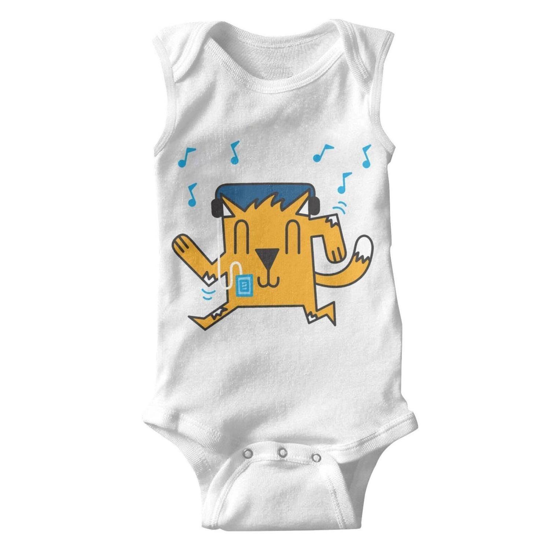 5218d6bc0 Amazon.com  Cat Cactus in Desert Unisex Onesies Baby Cute Baby ...