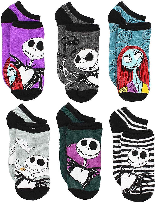The Nightmare Before Christmas Womens Multi Pack Socks (Teen/Adult)