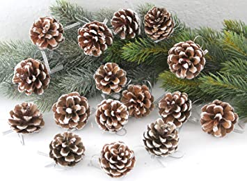 Lb H F 32 Stuck Tannenzapfen Mix Set Weihnachtsschmuck