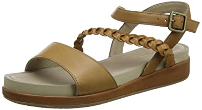 Women's ' Giovana Chrysta Leather Sandals US7 Brown