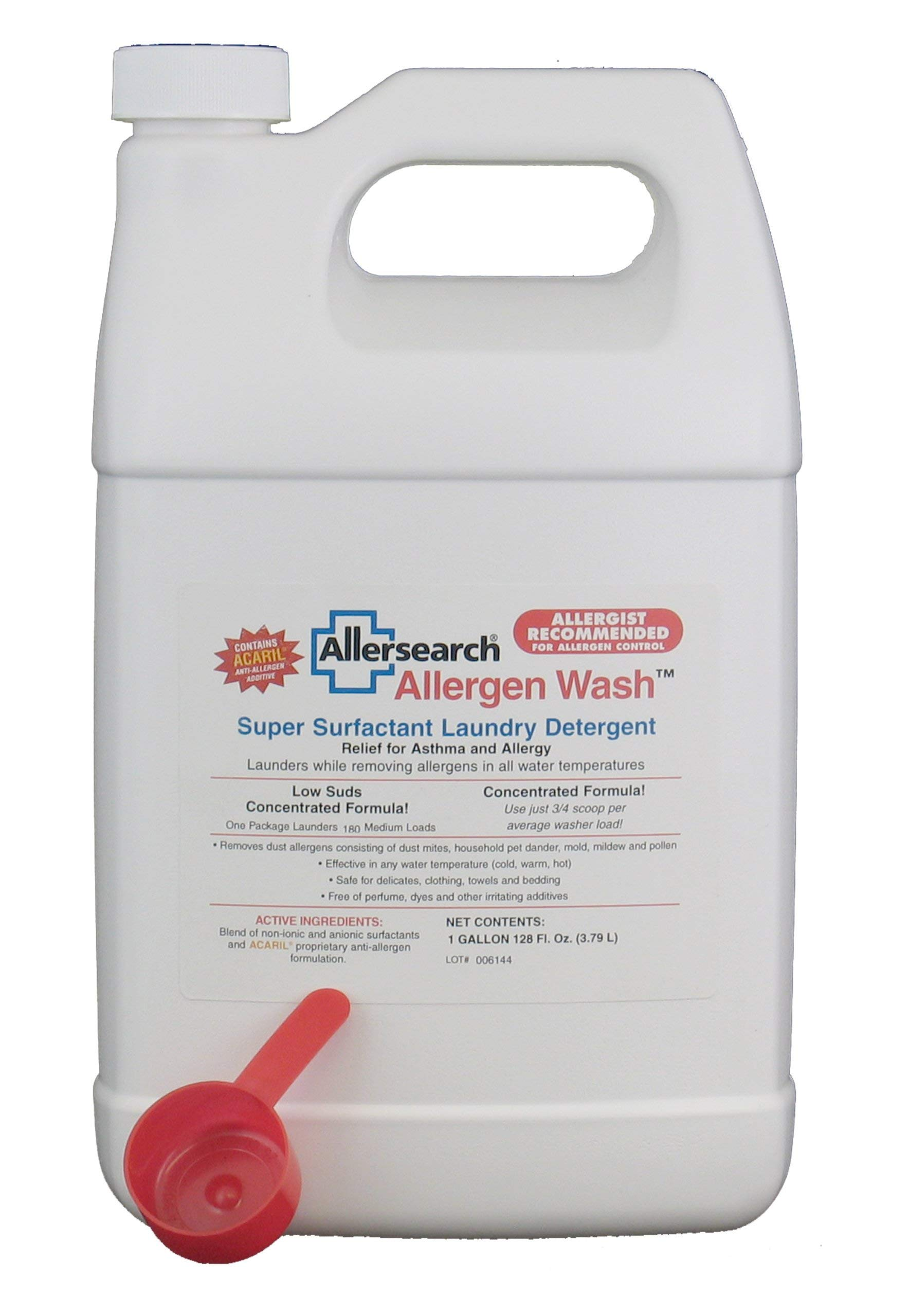 Allergen Wash Laundry Detergent 128 oz. by Allersearch