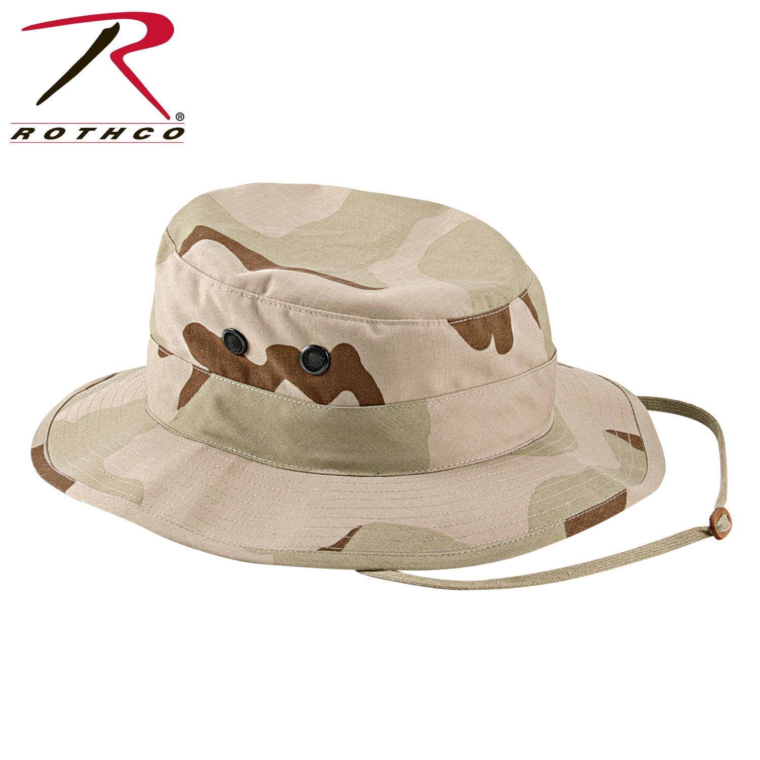 7648fd6debc Amazon.com  Tri-Color Desert Camouflage Military Boonie Hat 5824 Size 7.5   Military Apparel Accessories  Clothing