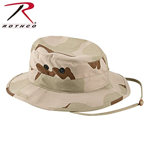 4b87d2e7b23e0 Image Unavailable. Image not available for. Color  Tri-Color Desert  Camouflage Military Boonie Hat ...