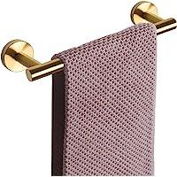 NearMoon Bathroom Towel Bar, Bath Accessories Thicken Stainless Steel Shower Towel Rack for Bathroom, Towel Holder Wall…