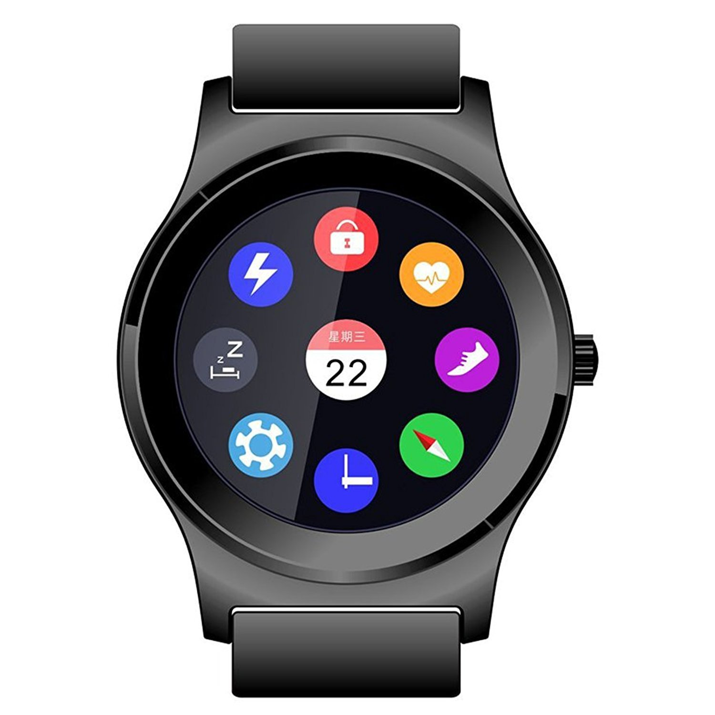 NEECOO V3 Smartwatch - 1.3 Pantalla para Bluetooth 4.0 Above Smartphone Podómetro, Ritmo Cardíaco Control de Reproducción de Música IU Cambiante