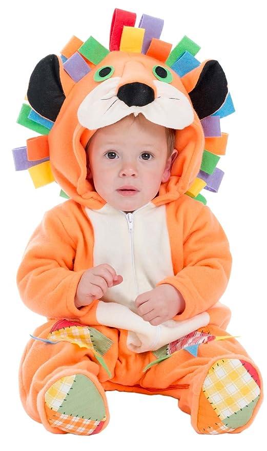 generique Costume Leone arancione per neonato 6 12 mesi (74 80 ... 5866d00ba5c