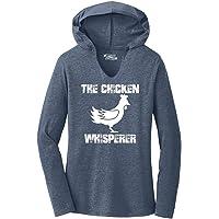 Comical Shirt Ladies The Chicken Whisperer Hoodie Shirt
