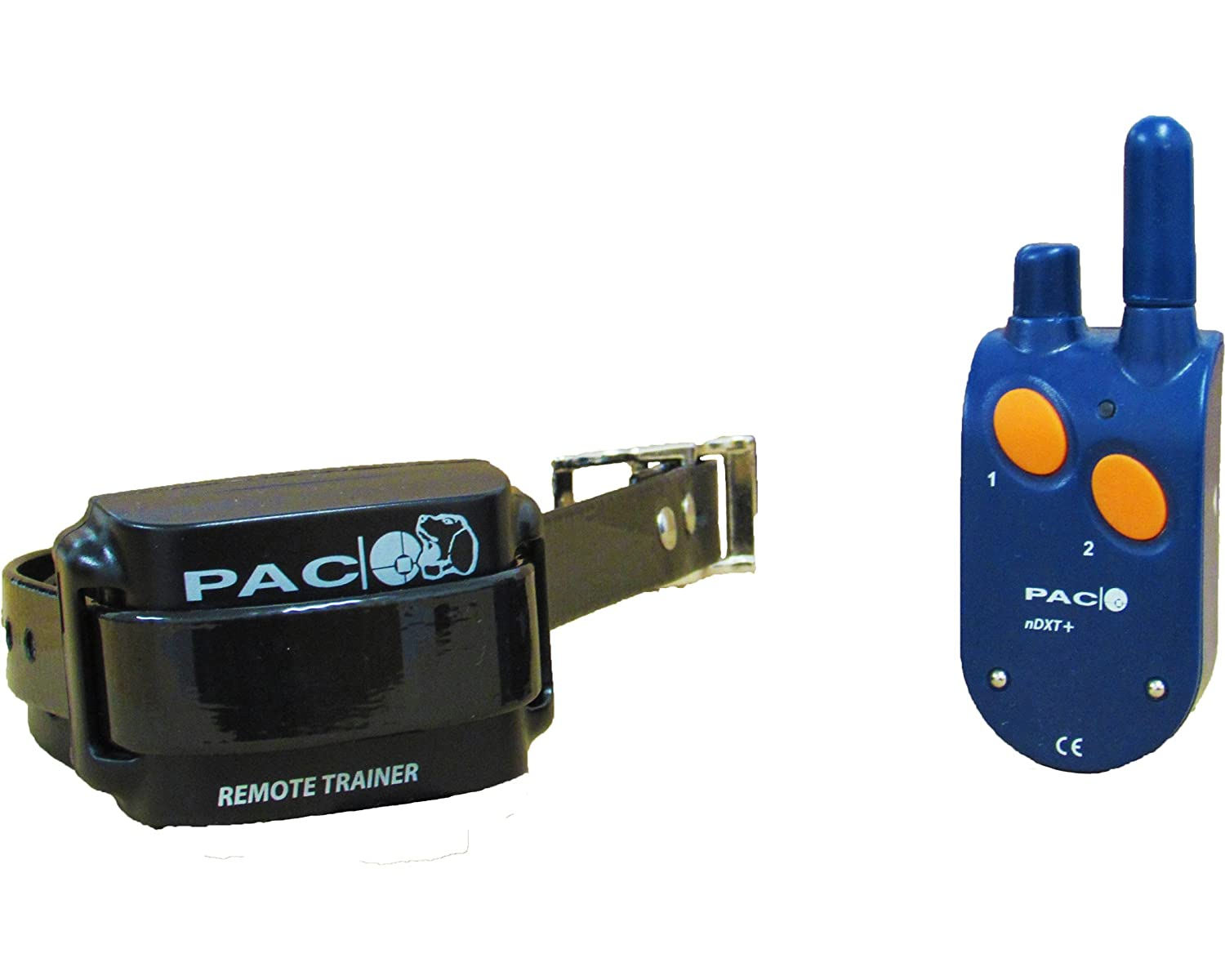 Pacdog's PacBuzz No Shock Dog Training Collar with Remote   Irish Made with 2 Year Warranty Rechargeable Waterproof 1km Range Pet Trainer for Large Small Medium Dogs