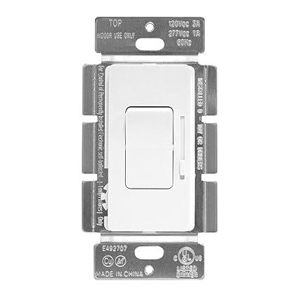 enerlites 0 10v dimmer 51300l w low voltage dimmer switch for 0