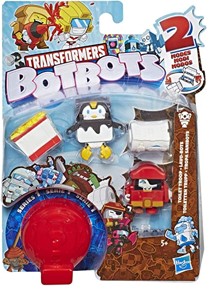 style au hasard Multi Transformers E3486 botbots 5 Pack-Série 1