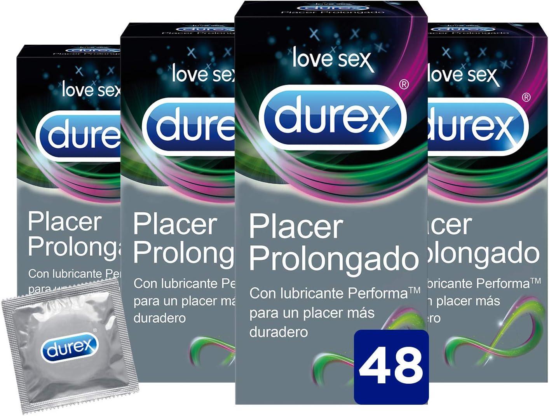 Preservativos Retardante Durex Placer Prolongado con Lubricante ...
