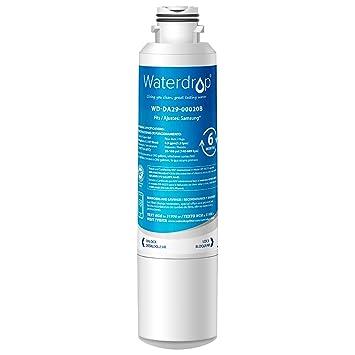 Waterdrop DA29-00020B reemplazo del filtro de agua del refrigerador para Samsung DA29-00020B, DA97-08006A-B, HAF-CIN EXP, DA29-00020A, DA29-00019A: ...