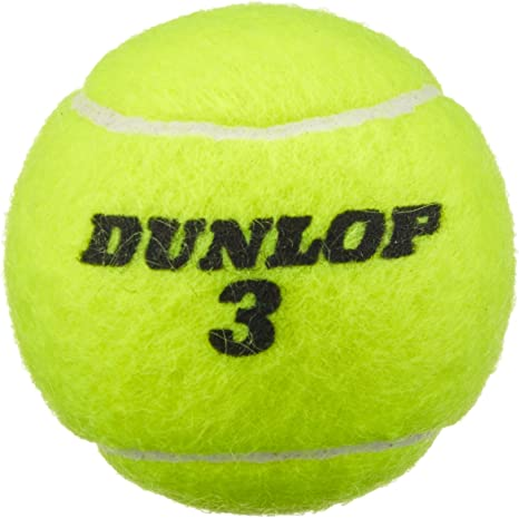 Dunlop Match 4 Pelotas de Tenis Lata, Amarillo, One Size: Amazon ...