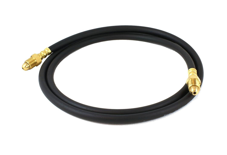 Flowmeter Hose with 5//8-18 Male Connectors 10 Feet Long SÜA