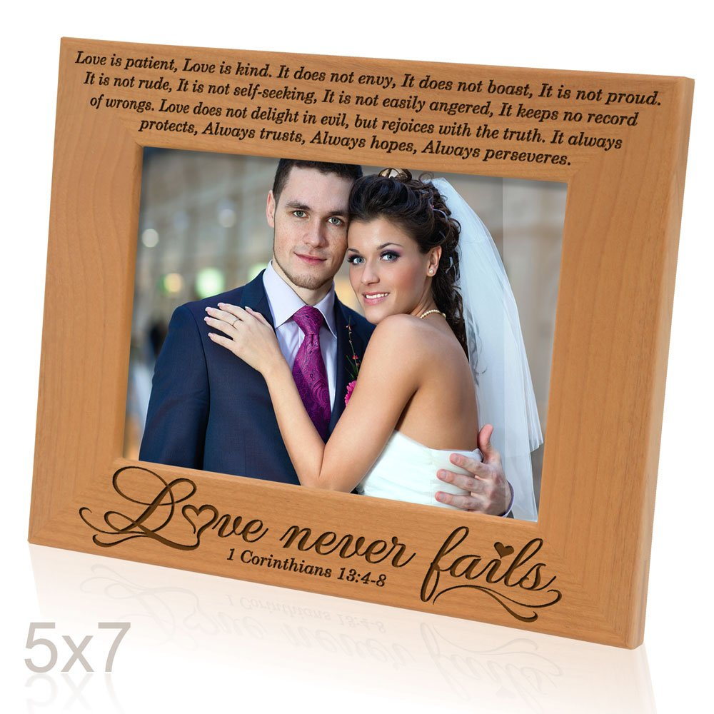 Amazoncom Kate Posh Love Never Fails 1 Corinthians 134 8