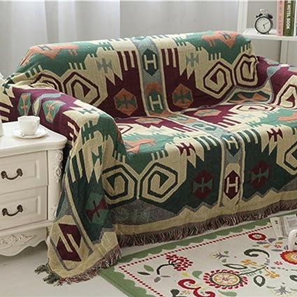Strange Amazon Com Maxwow Bohemian Sofa Blanket Sofa Throw 1 Gamerscity Chair Design For Home Gamerscityorg