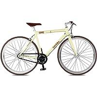 Vélo électrique de course noir - Batterie : Panasonic 36V, 10,4 Ah - Autonomie : 90 KM - Poids : 13 KG sur amazon