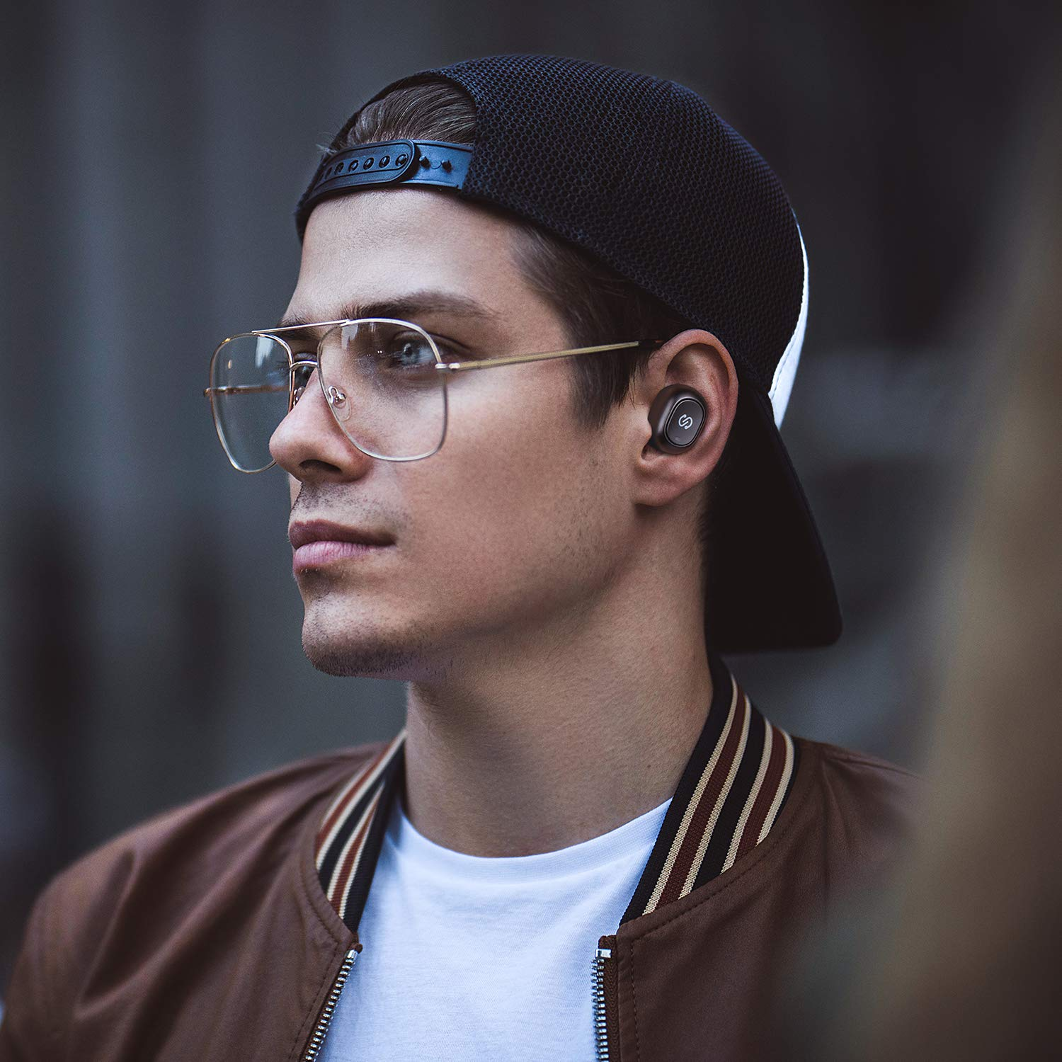 SoundPEATS True Wireless Bluetooth Earbuds in-Ear Stereo Bluetooth Headphones Wireless Earphones (Bluetooth 5.0, Built-in Mic, Stereo Calls, Total 15 Hours Playtime) by SoundPEATS (Image #7)