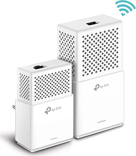 TP-Link TL-WPA7510 - KIT de Adaptadores Powerline Gigabit AV1000 Cobertura Internet, Línea Eléctrica, WiFi AV 1000 Mbps 2 Puertos, ideal Smart TV, Ps4, Nintendo Switch: Tp-Link: Amazon.es: Informática