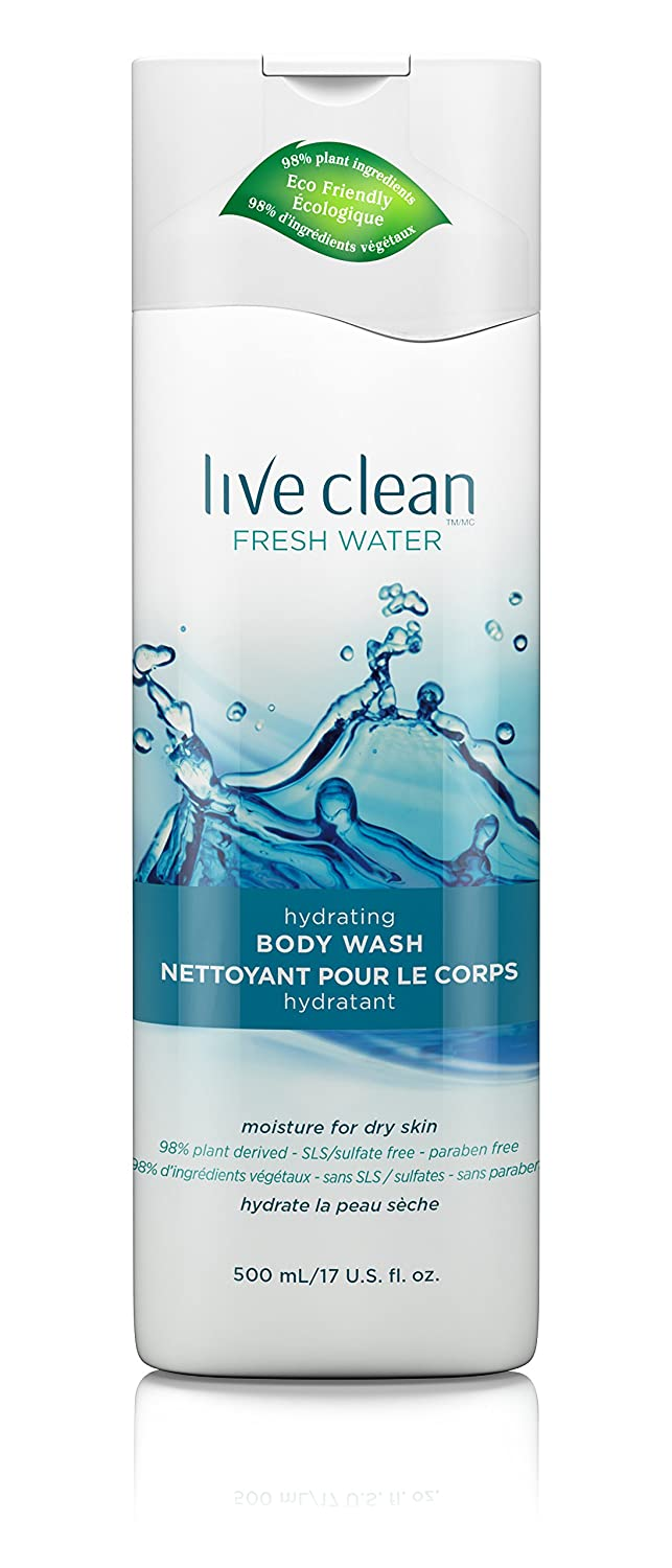 Live Clean Fresh Water Moisturizing Body Wash 65743321201