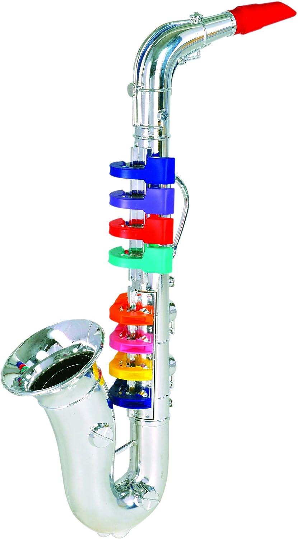 Bontempi 32 4331 8 Notes Saxophone, 42 cm, Multi-Color