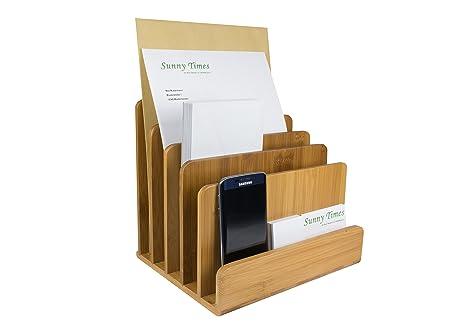 Box Ufficio Legno : Sunny times portadocumenti organizer da scrivania desk letter box