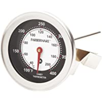 Farberware Protek Candy and Deep Fry Thermometer, Stainless Steel