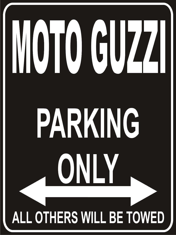 MOTO GUZZI Parking Only Sign