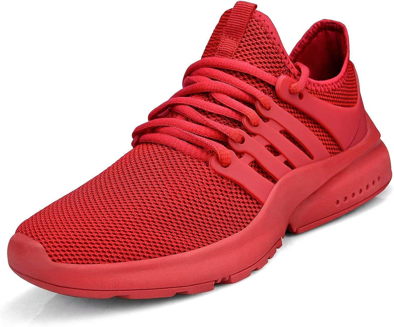 Troadlop Womens Non Slip Shoes Athletic Lightweight Slip on Sneakers