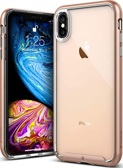more photos d7ec2 a51bd Amazon.com: Caseology Skyfall for iPhone Xs Max Case (2018) - Clear ...