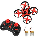 Goolsky NIHUI NH-010 2.4G 4CH 6-Axis Gyro Mini RC Quadcopter RTF UFO Anti-crush Drone with Two Batteries