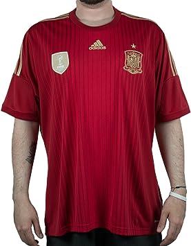 adidas Climacool España 2013/2014 Camiseta - G85279_M, granate/rojo: Amazon.es: Deportes y aire libre